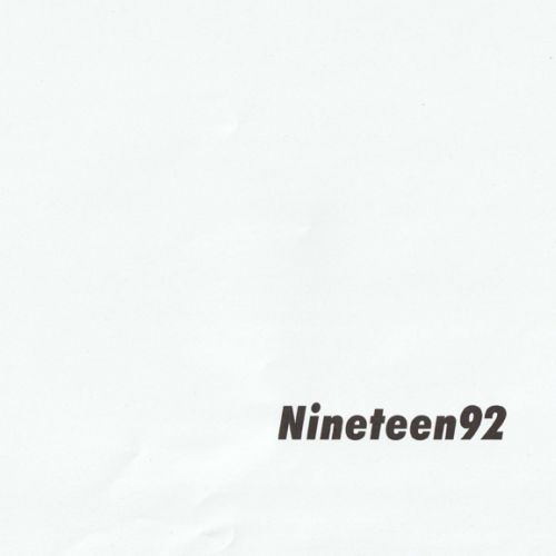 Nineteen92 (Nomadico UR Remix) by Werner Niedermeier & Gareth ...